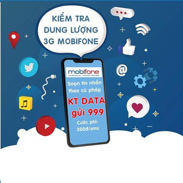 Cách kiểm tra dung lượng 3G Mobifone miễn phí