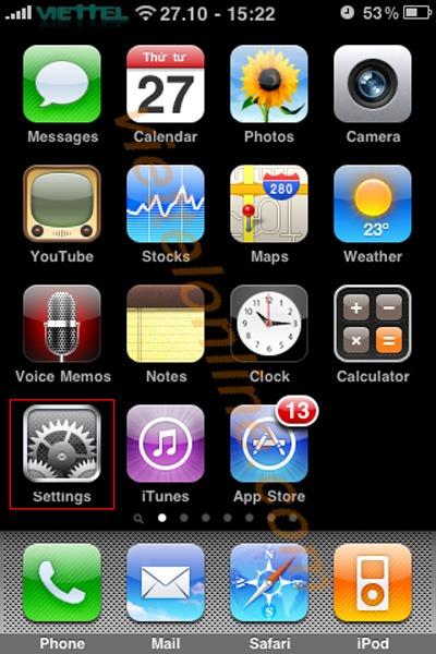 cài đặt 3g cho iphone ipad