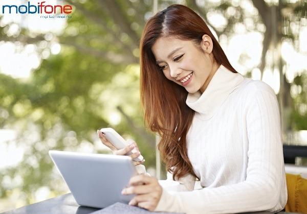 kiểm tra dung lượng Data 3G Mobifone