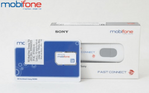 sim 3G Fast Connect Mobifone