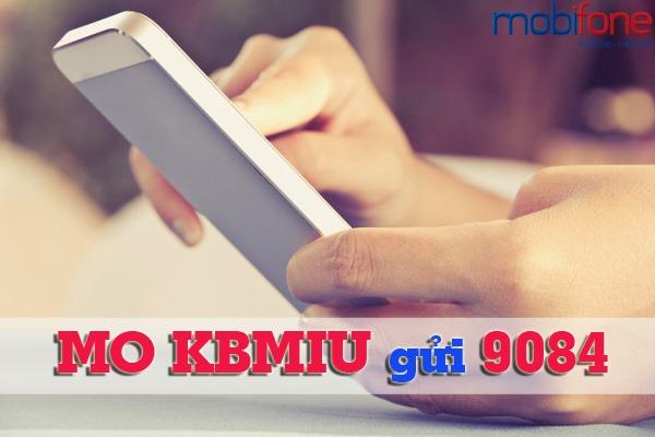 gói KBMIU Mobifone