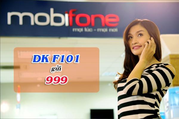 gói cước F101 Mobifone