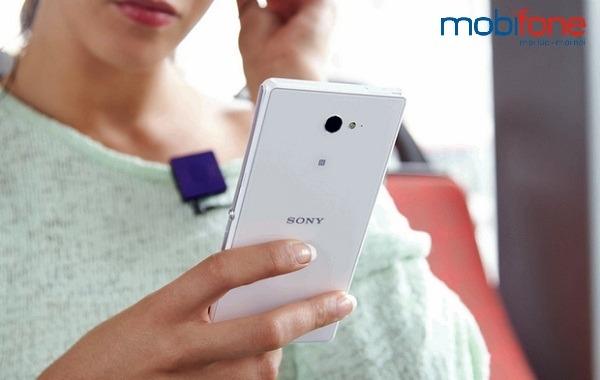 cài đặt 3G Mobifone cho Sony