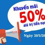 Mobifone-khuyen-mai-50-gia-tri-nap-tien-ngay-20-1-2017