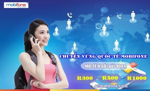 Đăng ký dịch vụ Chuyển vùng Quốc tế Mobifone