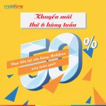 mobifone-khuyen-mai-50-nap-tien-vao-thu-6