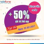 mobifone-khuyen-mai-50-the-nap-ngay-15-3-2017