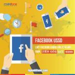 Dịch vụ Facebook USSD Mobifone lướt Facebook không cần 3G