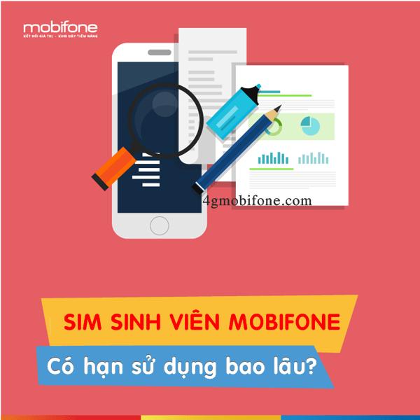Thời hạn sử dụng Sim sinh viên Mobifone là trong bao lâu