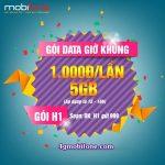 Mobifone khuyến mãi đăng ký 3G nhận 5GB chỉ 1000đ đến hết ngày 31/7/2017