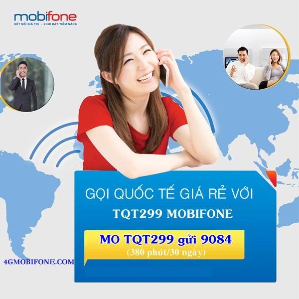 Đăng ký gói TQT299 Mobifone