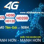 Tổng hợp các gói cước 4G Mobifone mới nhất 2017