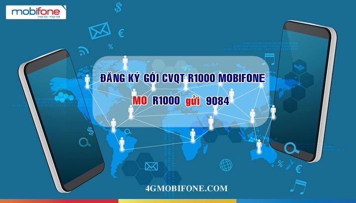 Thông tin Gói cước R1000 Mobifone