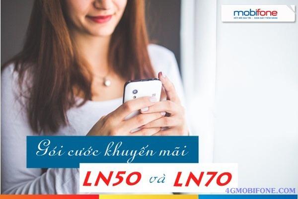 Đăng ký Gói LN50 và Ln70 Mobifone