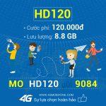 Cách đăng ký gói HD120 Mobifone