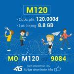 Cách đăng ký gói M120 Mobifone