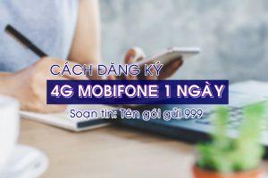 Đăng ký 4G Mobifone 1 ngày