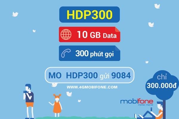 Đăng ký gói HDP300 Mobifone