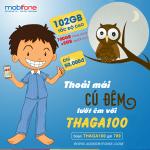 Đăng ký gói THAGA100 Mobifone