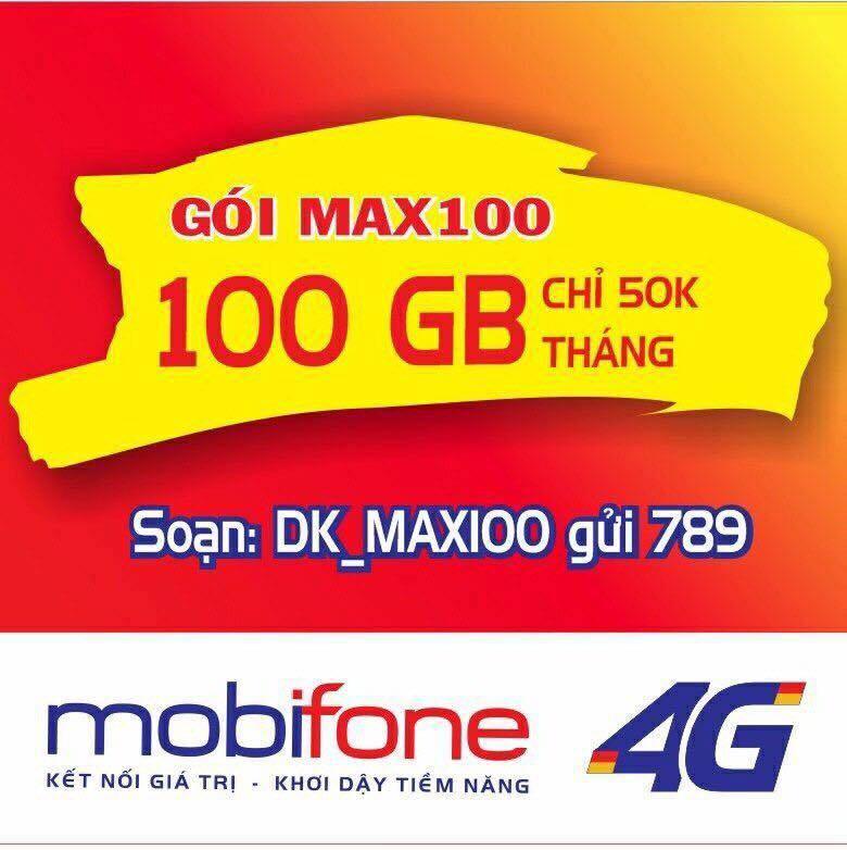 Cách đăng ký gói MAX100 Mobifone