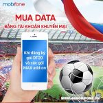 Cách Mua Data bằng tài khoản khuyến mãi Mobifone