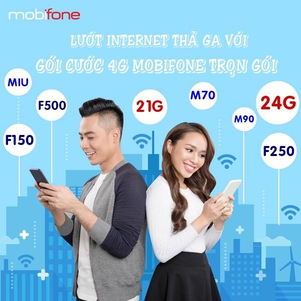 Bảng giá gói cước 4G Mobifone trọn gói