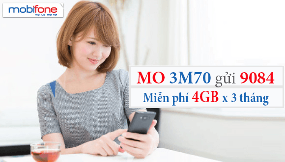 Cách đăng ký gói 3M70 Mobifone