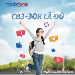 Cách đăng ký gói CB3 Mobifone