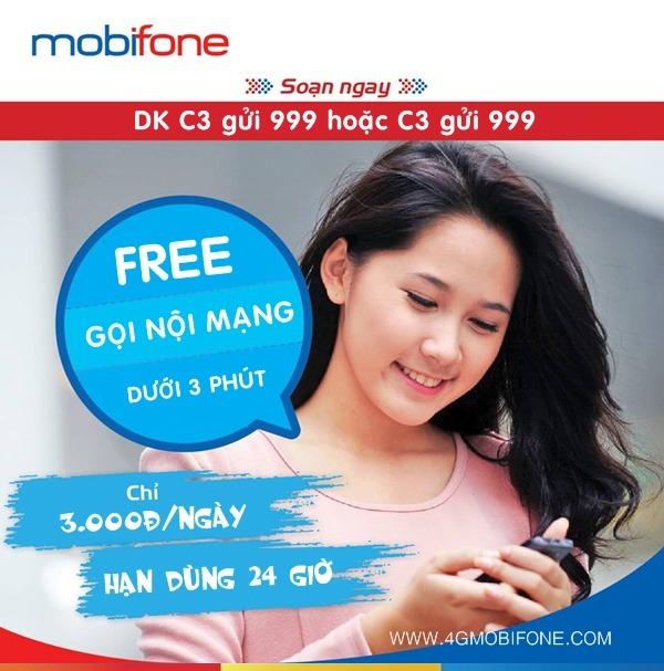 Cách đăng ký gói C3 Mobifone