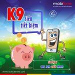 Đăng ký gói K9 Mobifone nhận 90 phút gọi nội mạng chỉ 9.000đ
