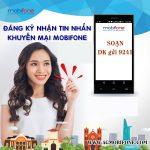Hướng dẫn cách nhận tin nhắn khuyến mãi Mobifone miễn phí