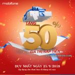 Chương trình Mobifone khuyến mãi thanh toán cước trả sau ngày 25/9