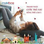 Cách nạp tiền Mobifone trả sau bằng thẻ cào điện thoại