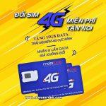 Chương trình Đổi Sim 4G Mobifone nhận 15GB