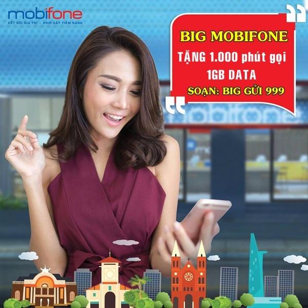 Đăng ký gói BIG Mobifone