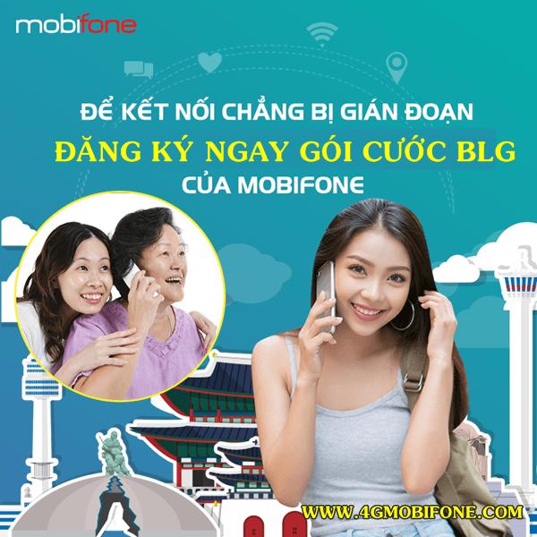 Đăng ký gói BLG Mobifone