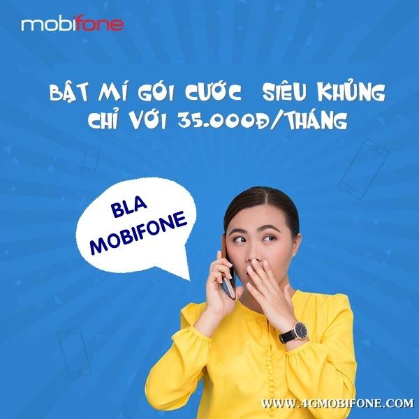 Đăng ký gói cước BLA Mobifone