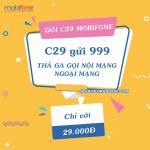 Cách đăng ký gói C29 Mobifone