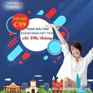 Cách đăng ký gói C39 Mobifone gọi nội mạng miễn phí cả tháng