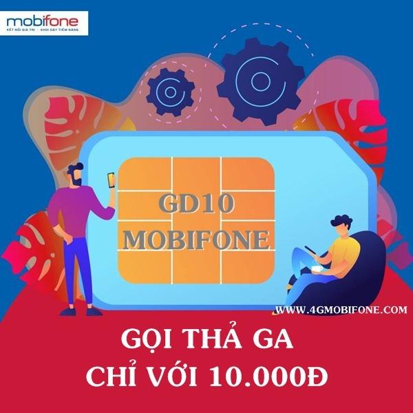 Đăng ký gói GD10 Mobifone