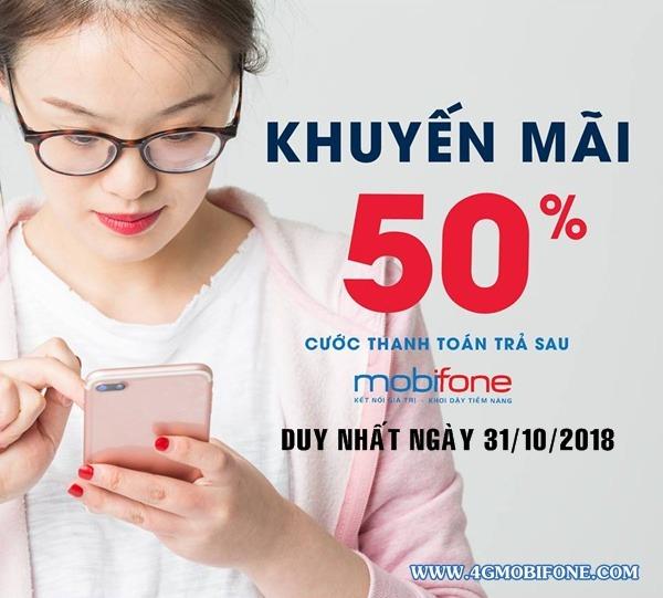 Chương trình Mobifone khuyến mãi ngày 31/10/2018