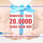 Mobifone tặng 20.000đ mừng năm mới