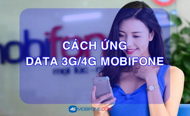 Ứng Data 3G/4G Mobifone