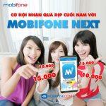 Tải Mobifone NEXT nhận 15.000đ
