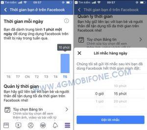 Kiểm tra thời gian sử dụng Facebook mỗi ngày