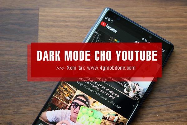 Cách bật nền tối Dark Mode cho Youtube