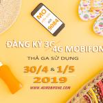 Đăng ký 4G Mobifone xài trong dịp lễ 30/4, 1/5