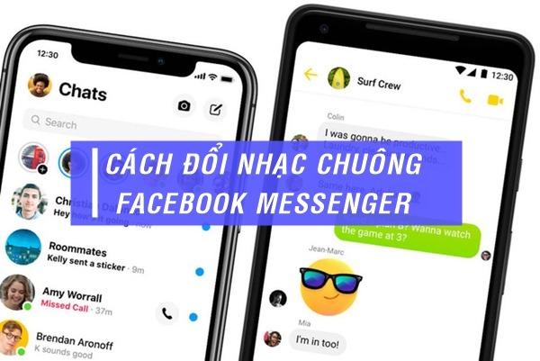 Cách đổi nhạc chuông Messenger
