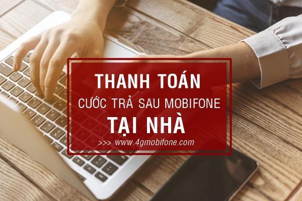 Cách thanh toán cước trả sau Mobifone tại nhà đơn giản