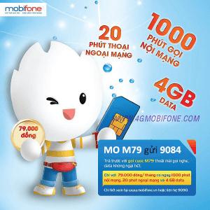 Đăng ký gói cước M79 Mobifone